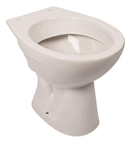 'aquaSu® Stand-WC | Tiefspüler | Abgang waagerecht | Weiß | Toilette | Klo | Bad |...