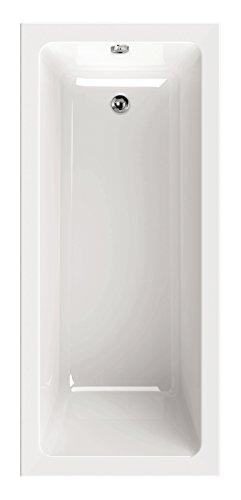'aquaSu® Acryl - Badewanne linHa I 170 x 75 cm I Weiß I Wanne I Badewanne I Bad I Badezimmer