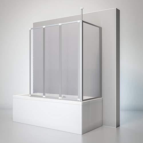TOP BEWERTUNGEN!    Schulte Badewannen Faltwand aus Kunstglas