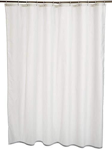 UNSER PREISTIPP!!    Amazon Basics waschbarer Duschvorhang aus Polyester - in 5 Designs & 2 Längen