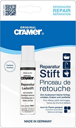 Cramer Reparatur-Lackstift Email, Acryl, Keramik - Sanitärlack zum Ausbessern kleinerer...