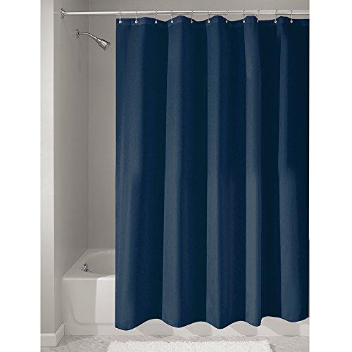 SUPER PREIS-LEISTUNG!!    iDesign waschbarer Textil Duschvorhang in 6 Farben