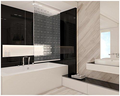 MEIN PREISTIPP! 12 verschiedene Designs - 7 Größen: DUSCHROLLO Badewanne!    Von KS Handel 24