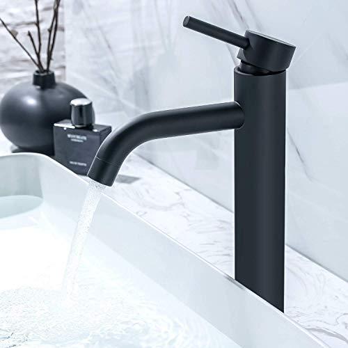 LOMAZOO Waschtischarmatur für Bad - Wasserhahn Bad | Waschbeckenarmatur Mischbatterie-Armatur...