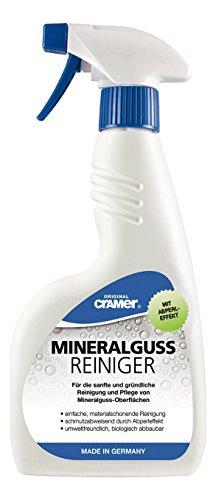 Cramer Mineralguss Reiniger zur Reinigung und Pflege von Mineralguss Oberflächen, 750 ml...