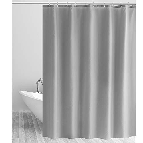 SEHR BELIEBT!! Duschabtrennung aus Polyester inkl. 12 Duschvorhangringen von CLOFY in 5 Designs und 2 Größen