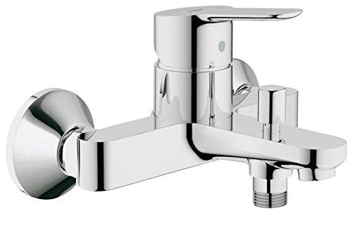 GROHE BauEdge | Badarmatur - Einhand-Wannenbatterie, mit automatischer Umstellung für...