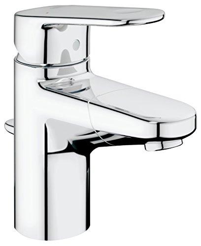 GROHE Europlus | Badarmatur - Einhand-Waschtischbatterie, mit herausziehbarerem Auslauf und...