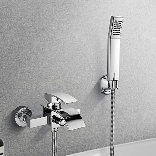 BONADE Wannenarmatur Badewanne Armatur Badewannen- & Duschsysteme Duscharmatur Wasserhahn inkl....