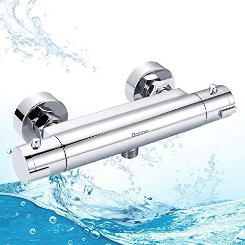 Dusche Thermostat, Dalmo DBWF01GR Brausethermostat Temperatureinstellung und...